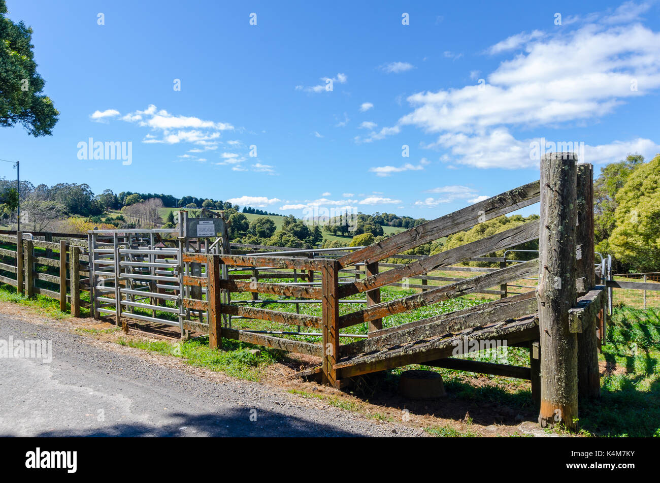 Cattle Yards Stock Photos Cattle Yards Stock Images Alamy