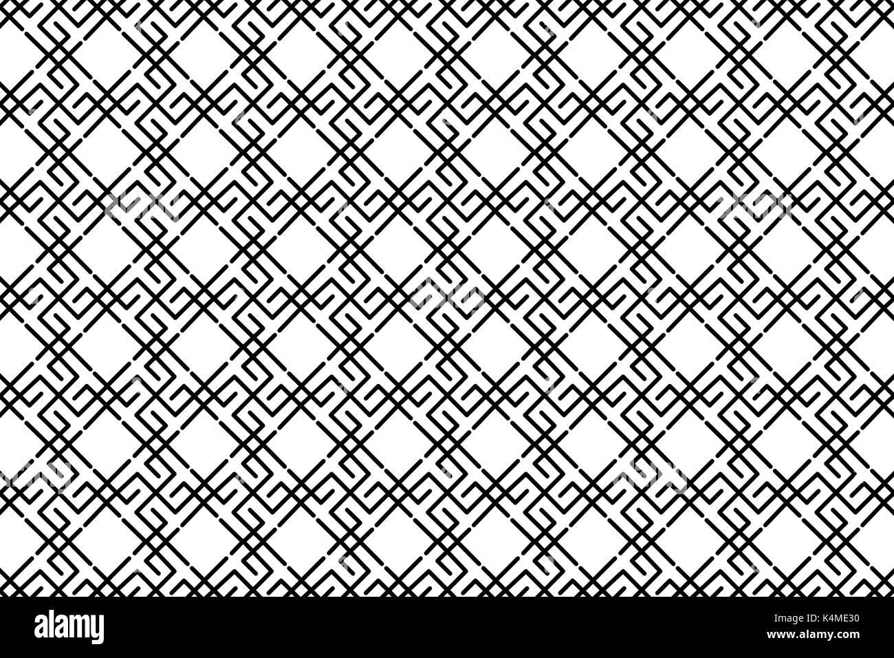 Symbol of the sun - vector pattern ,Slavic symbol of the sun , - Stock Image