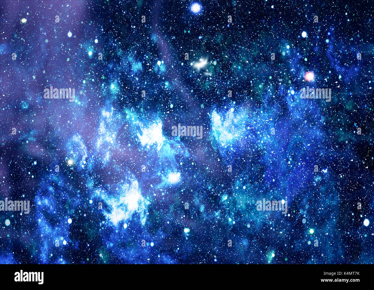 Deep space. High definition star field background . Starry outer space background texture . Colorful Starry Night Sky Outer Space background - Stock Image
