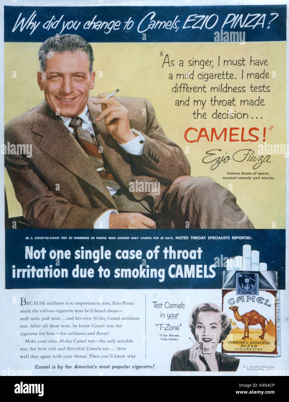 Camel Cigarettes Advert High Resolution Stock Photography And Images Alamy