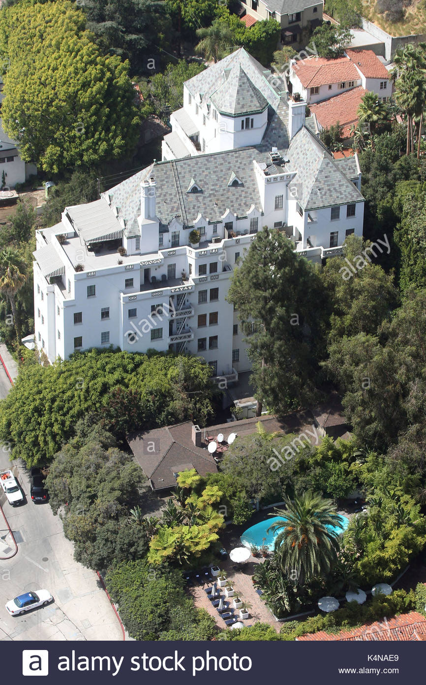 Chateau Marmont Hotel Stock Photos & Chateau Marmont Hotel ...