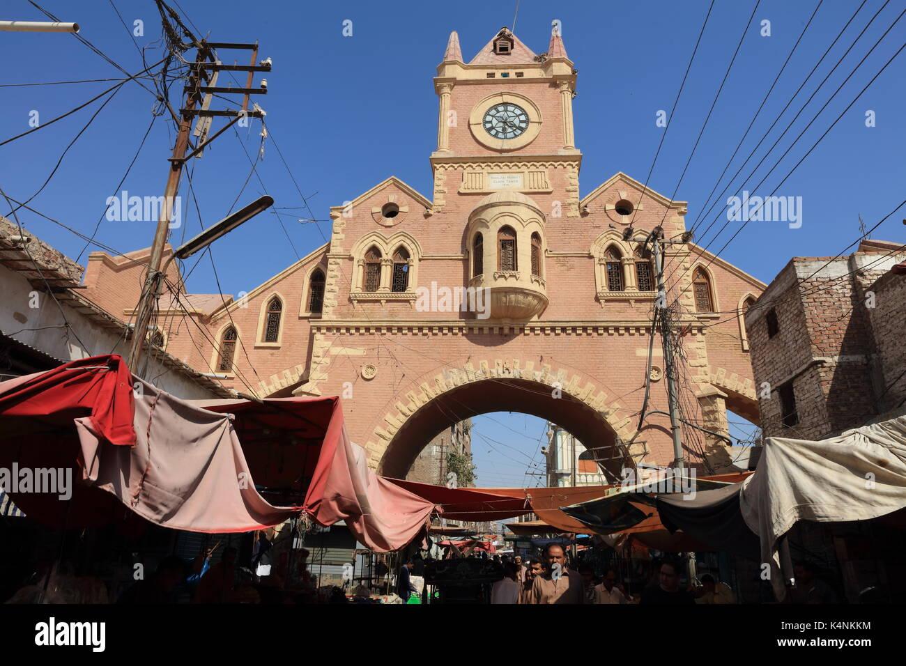 Clock Tower Hyderabad, Pakistan Stock Photo: 157828376 - Alamy