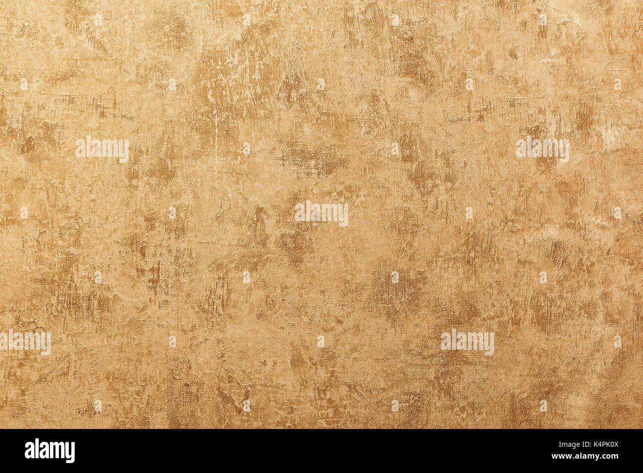 Embossed embossed structure of a decorative background in beige tones - Stock Image