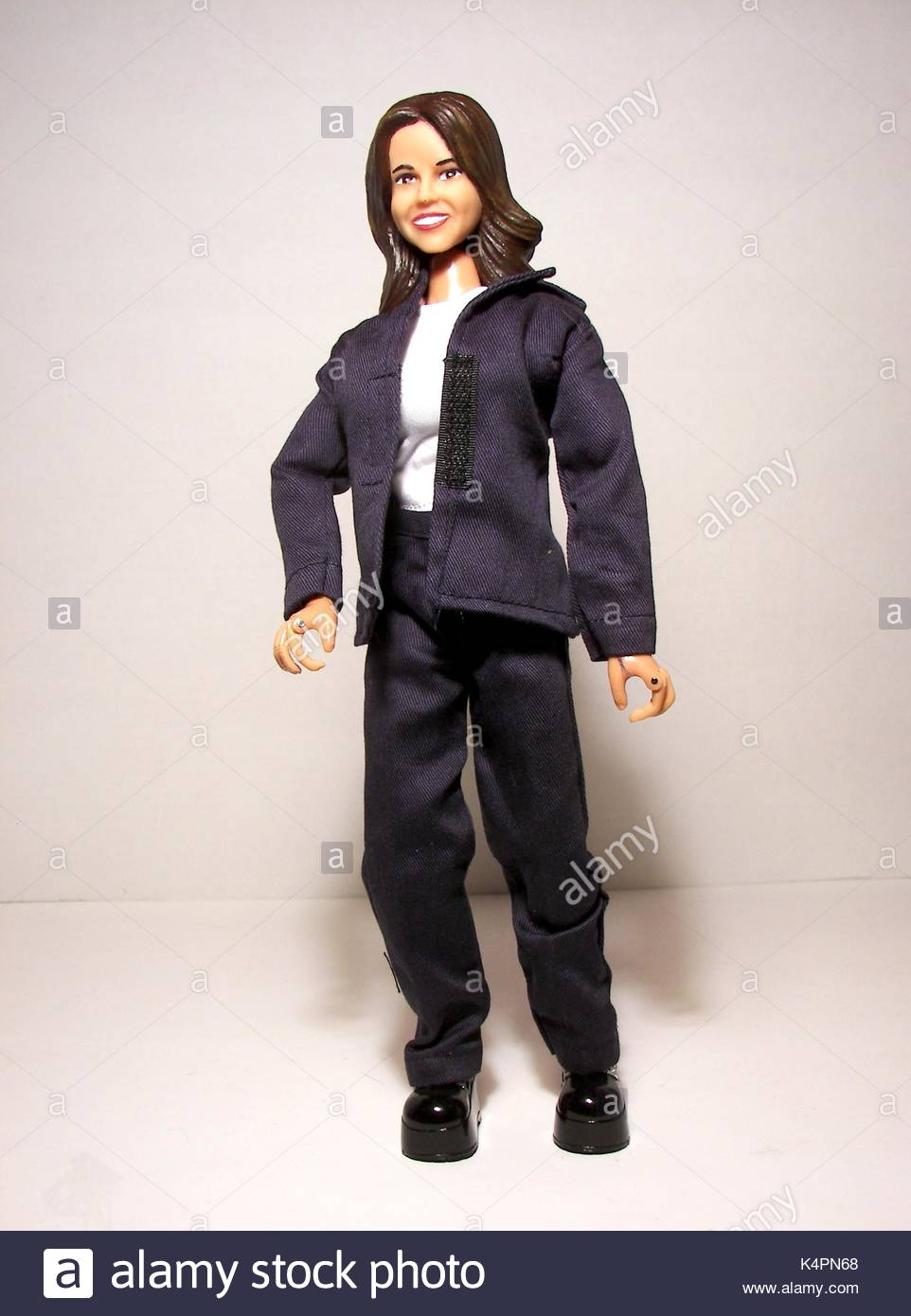 Christine O'Donnell doll. Tea Party sensation Christine O'Donnell has been immortalised in plastic. The - Stock Image