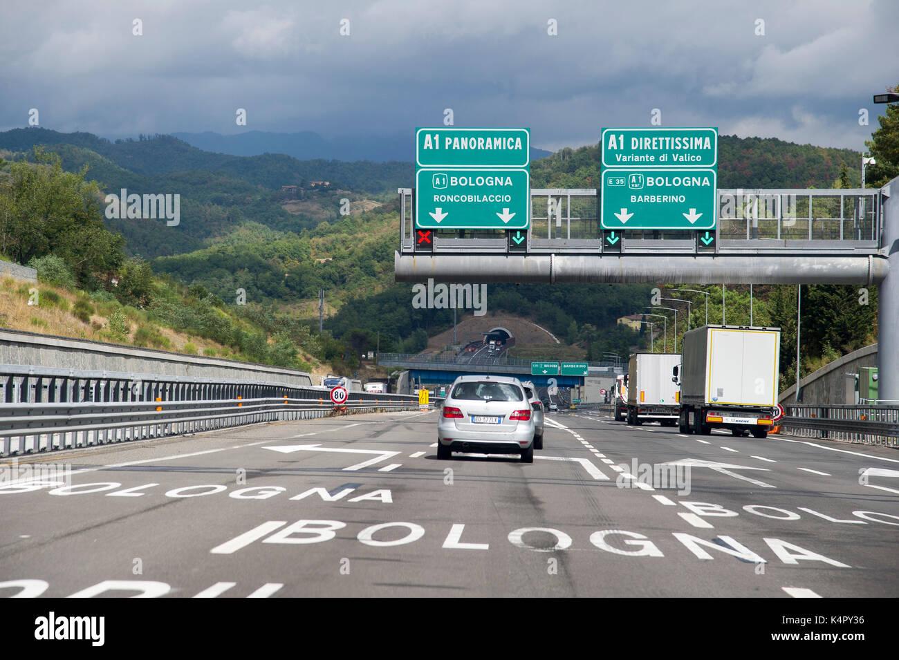 milano bologna autostrada tempo percorrenza - photo#12