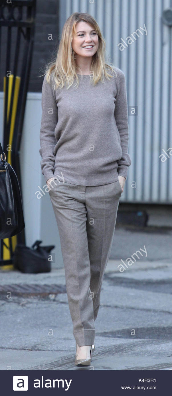Ellen Pompeo. Ellen Pompeo of Grey\'s Anatomy at the CTV building in ...