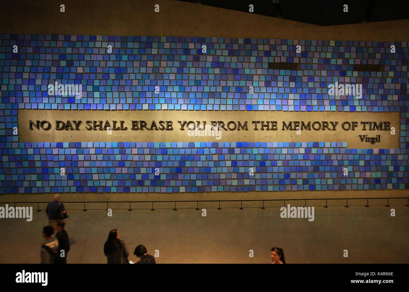national september 11 memorial museum - Stock Image