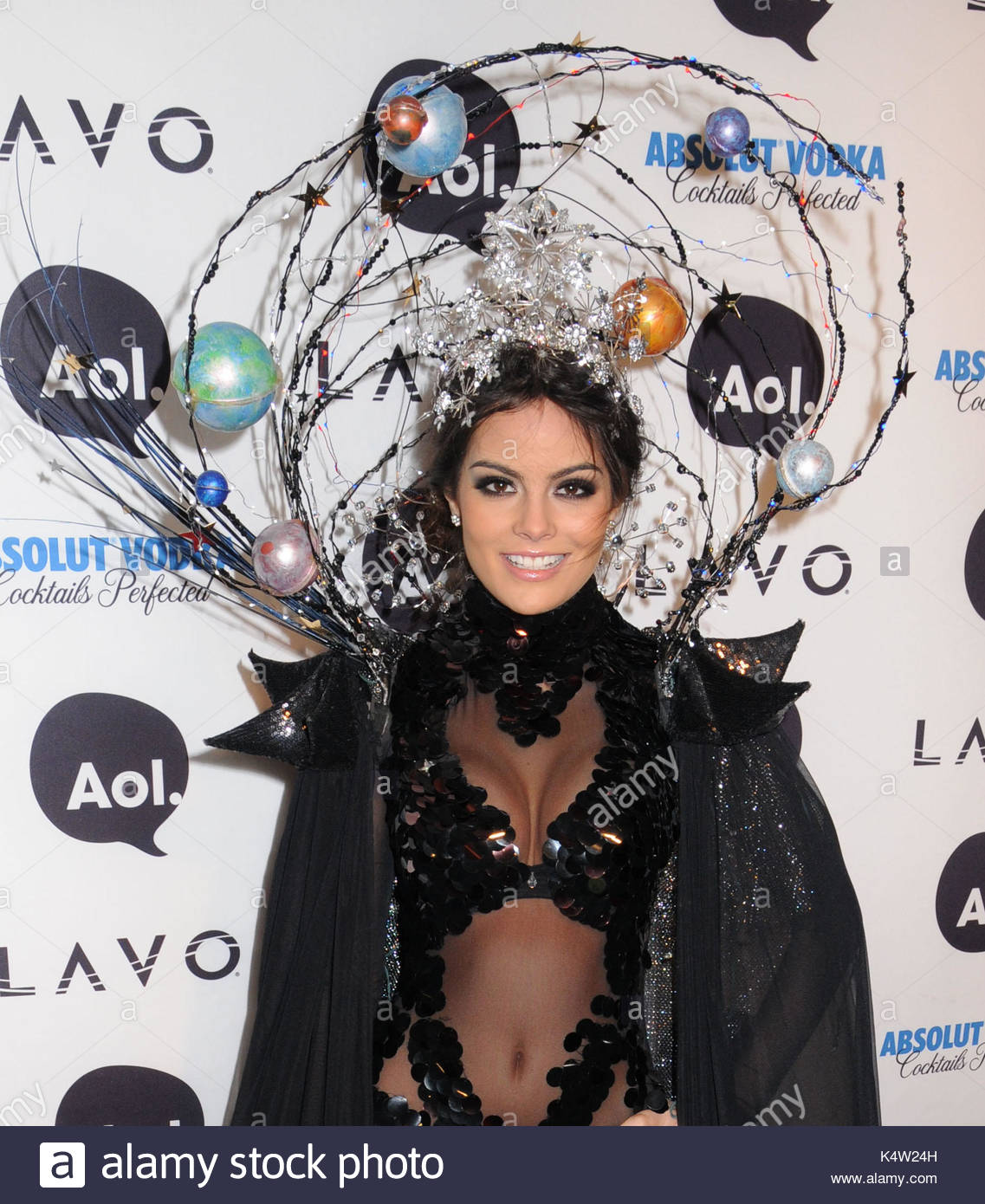 Miss Universe Ximena Navarrete. Celebrities from fashion and entertainment arrive dressed in their costumes for Heidi Klumu0027s 11th Annual Halloween Party ...  sc 1 st  Alamy & Miss Universe Ximena Navarrete. Celebrities from fashion and Stock ...
