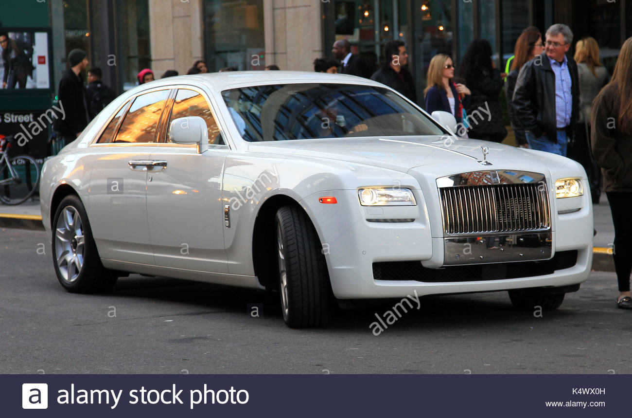 2011 Roll Royce Ghost The White 2011 Roll Royce Ghost That Kim