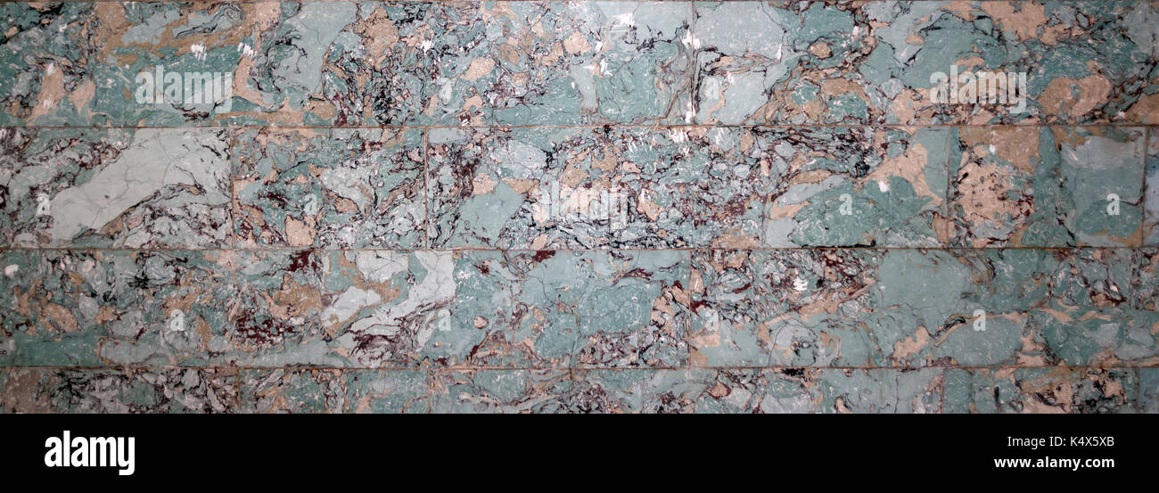 background of multicolored marble slabs - Stock Image