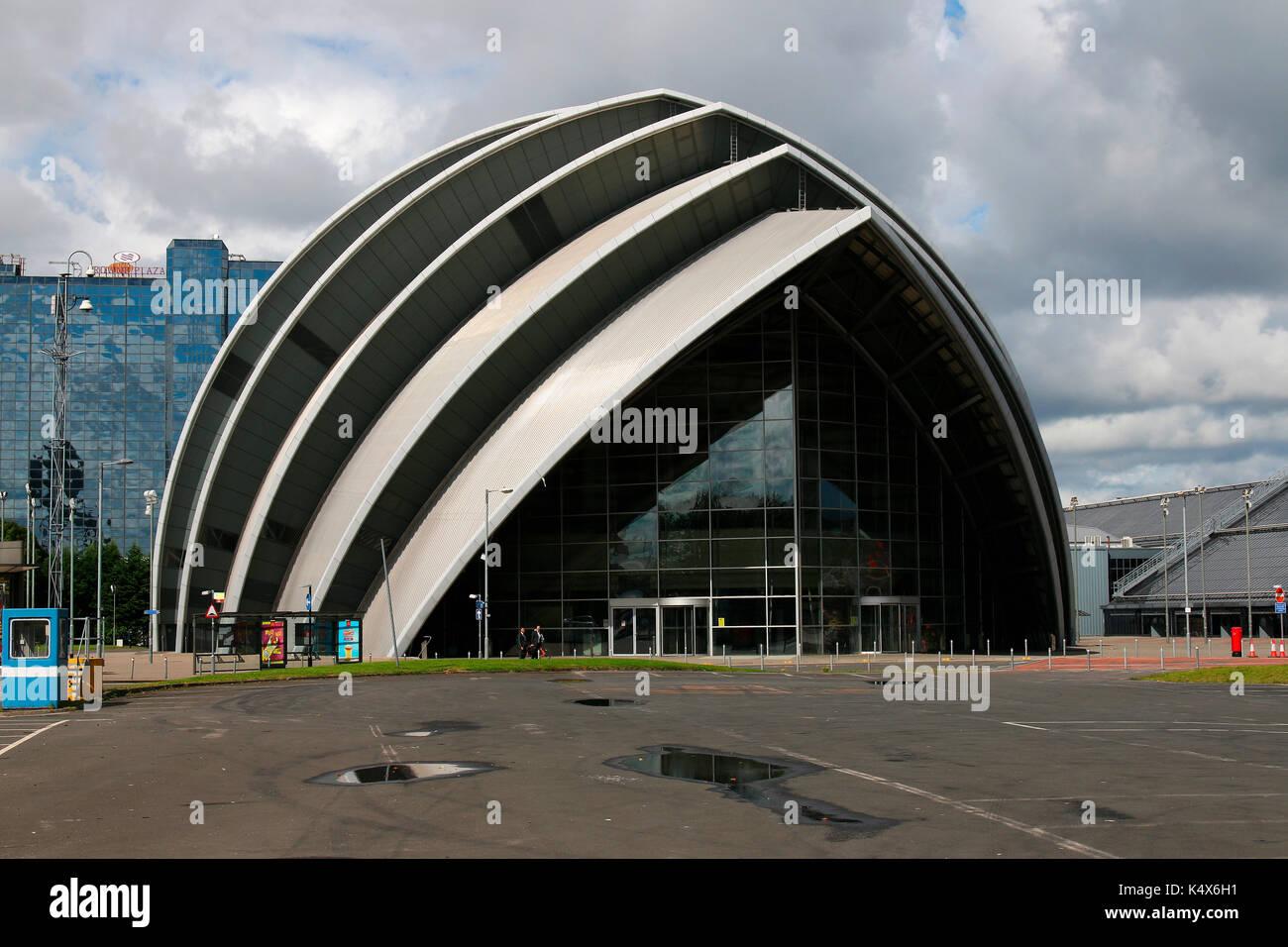 SECC Conference Center (Architekt: Sir Noprman Foster), Glasgow, Schottland/ Scotland . - Stock Image