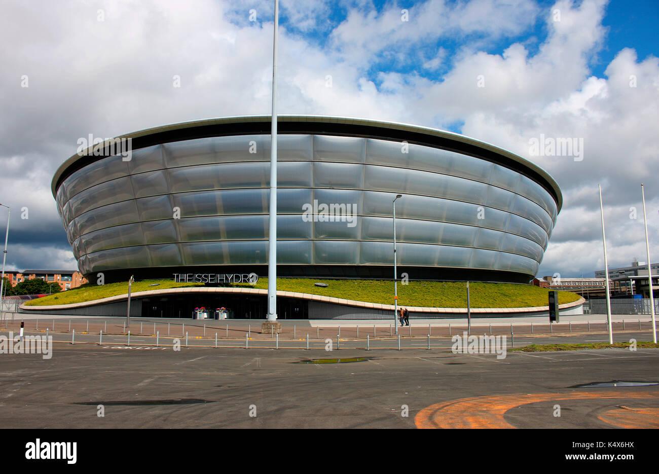 SSE Hydro (Architekt: Sir Noprman Foster), Glasgow, Schottland/ Scotland. - Stock Image