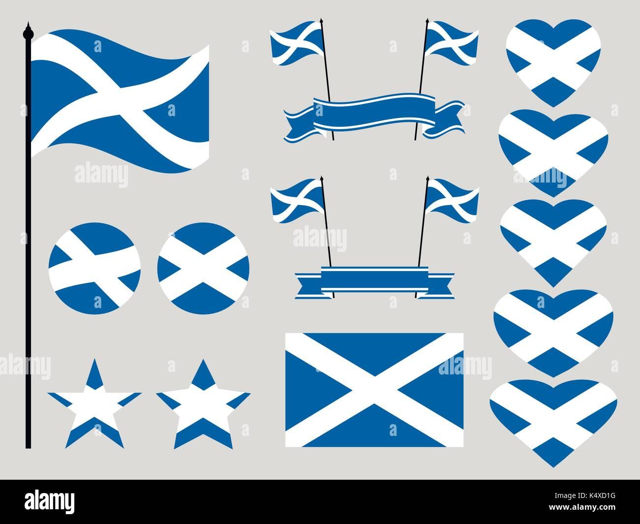 National Symbols Of Scotland Stock Photos National Symbols Of