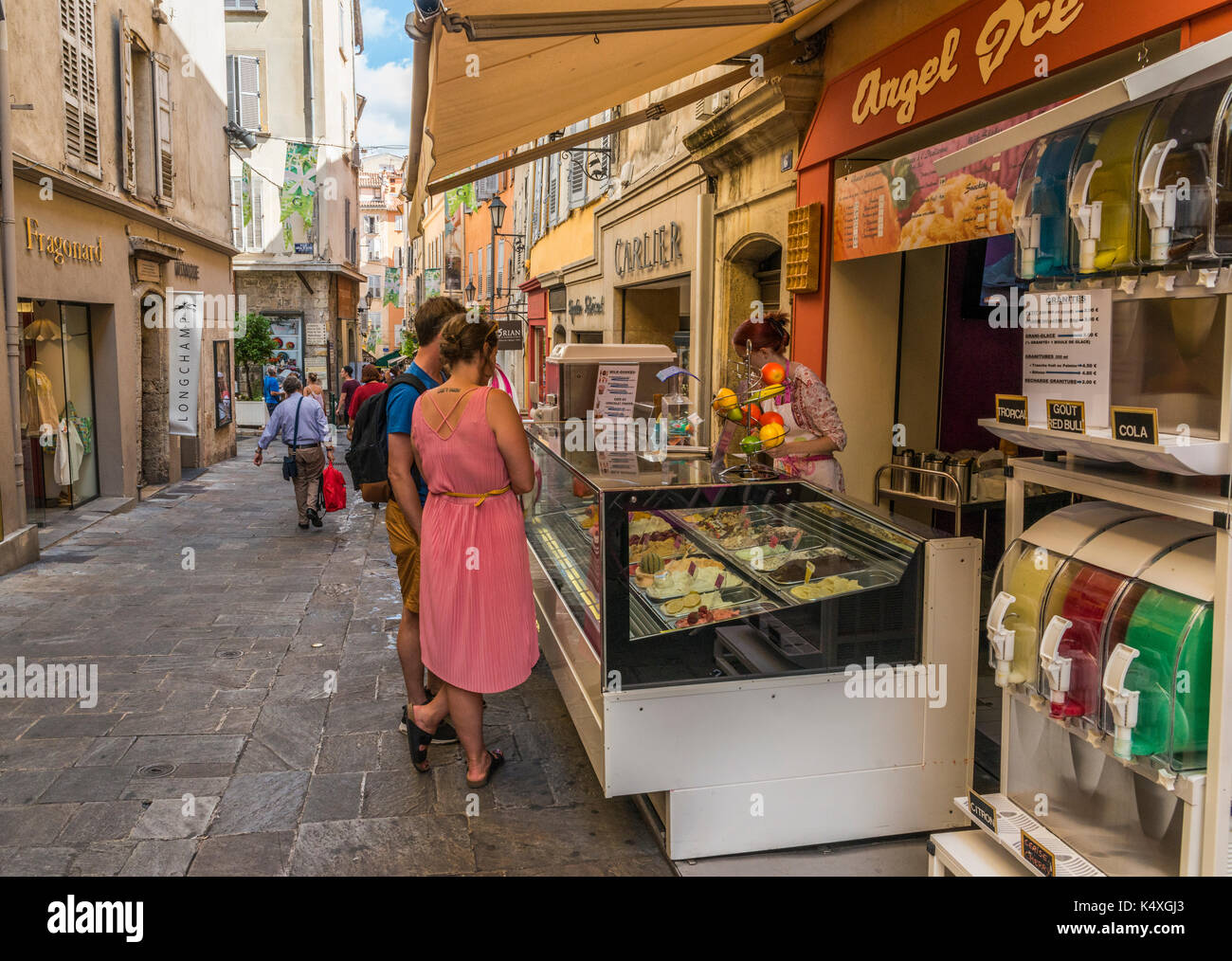 Grasse in Cote d'Azur, France is considered the World Capital of Perfume - Stock Image