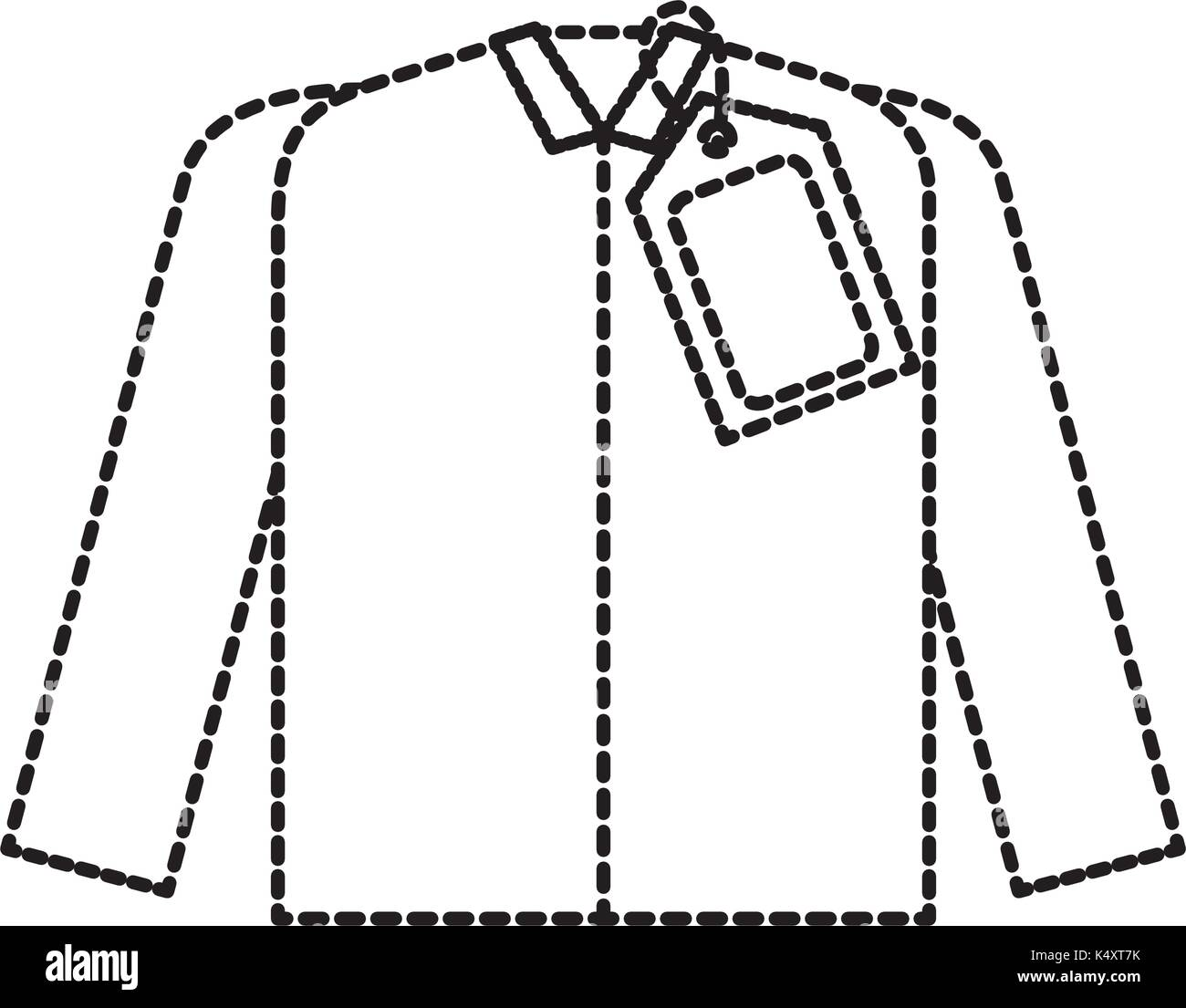 127e8b6f market clothes price tag new wear shirt Stock Vector Art ...