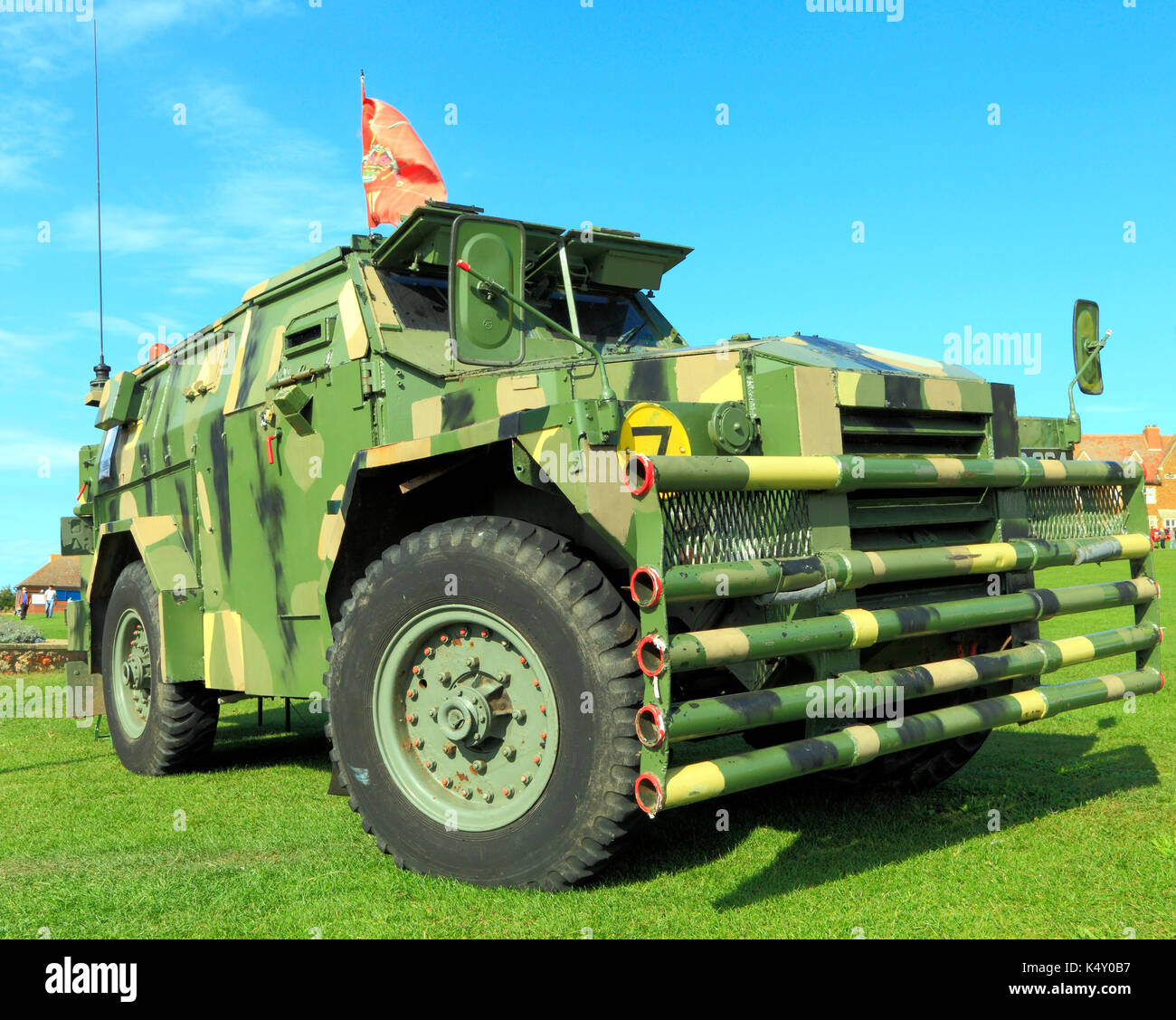 British Army, military vehicle, vintage, Humber Pig, 1954, deployed in Aden, Germany and N. Ireland, vehicles - Stock Image