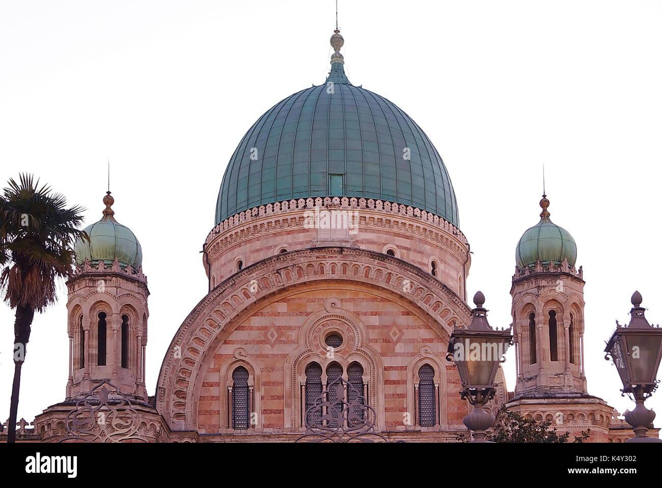 Italian Florence: Synagogue Worship Stock Photos & Synagogue Worship Stock