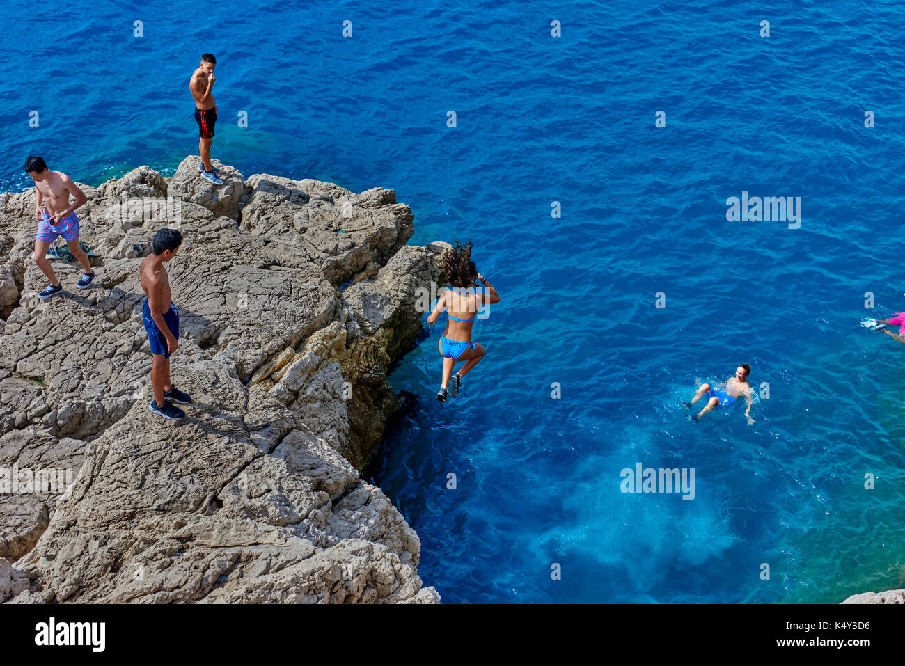 French Riviera FRN - Stock Image