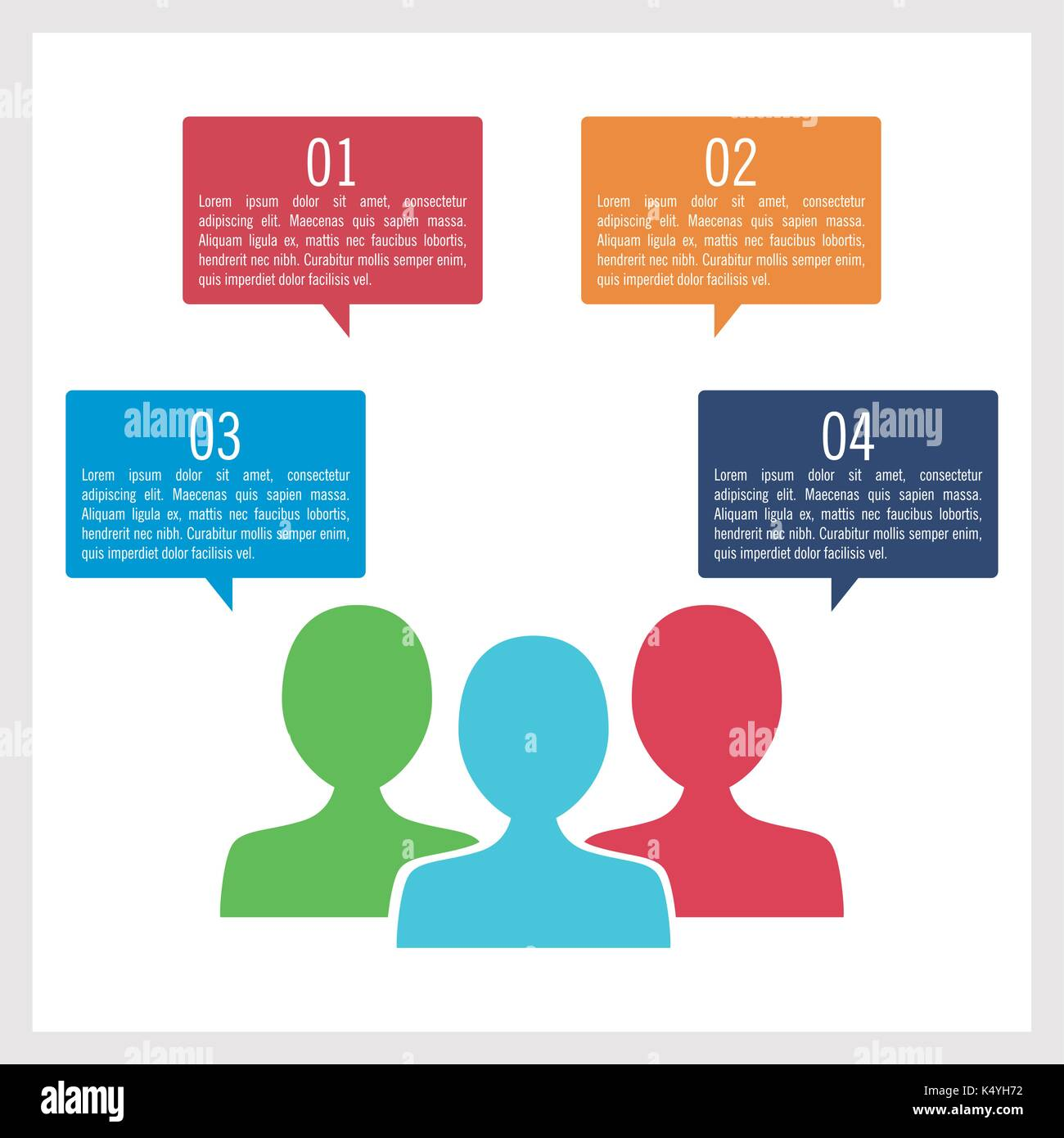 Business and education infographic - Stock Image