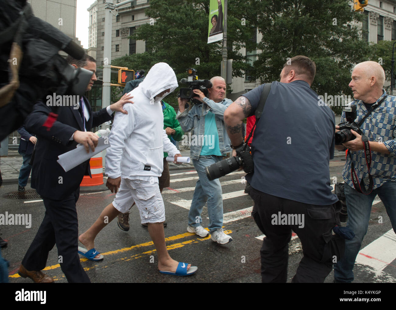 September 6, 2017 - New York, New York, U.S. - Craig Carton of WFAN's Stock  Photo - Alamy
