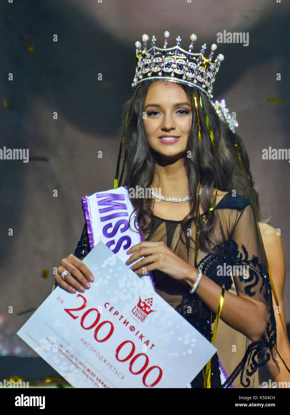 Miss Ukraine 2017 Stock Photos & Miss Ukraine 2017 Stock Images - Alamy