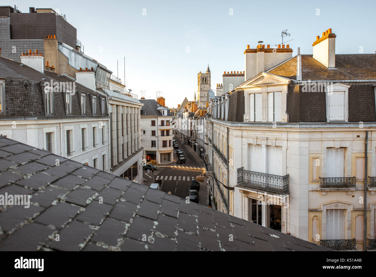 Orleans city in France - Stock Image