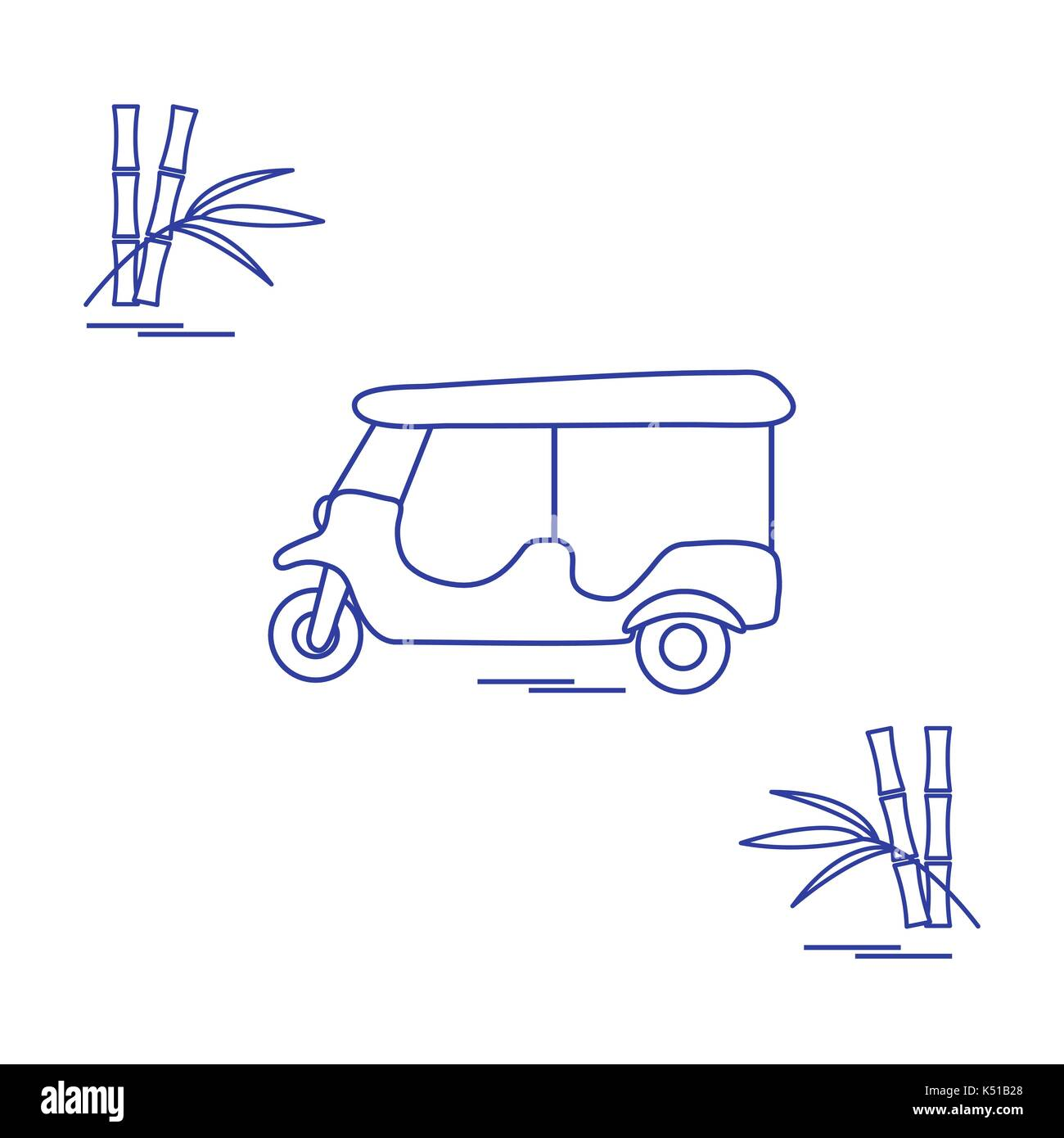 Tuk Tuk Cut Out Stock Images Pictures Alamy