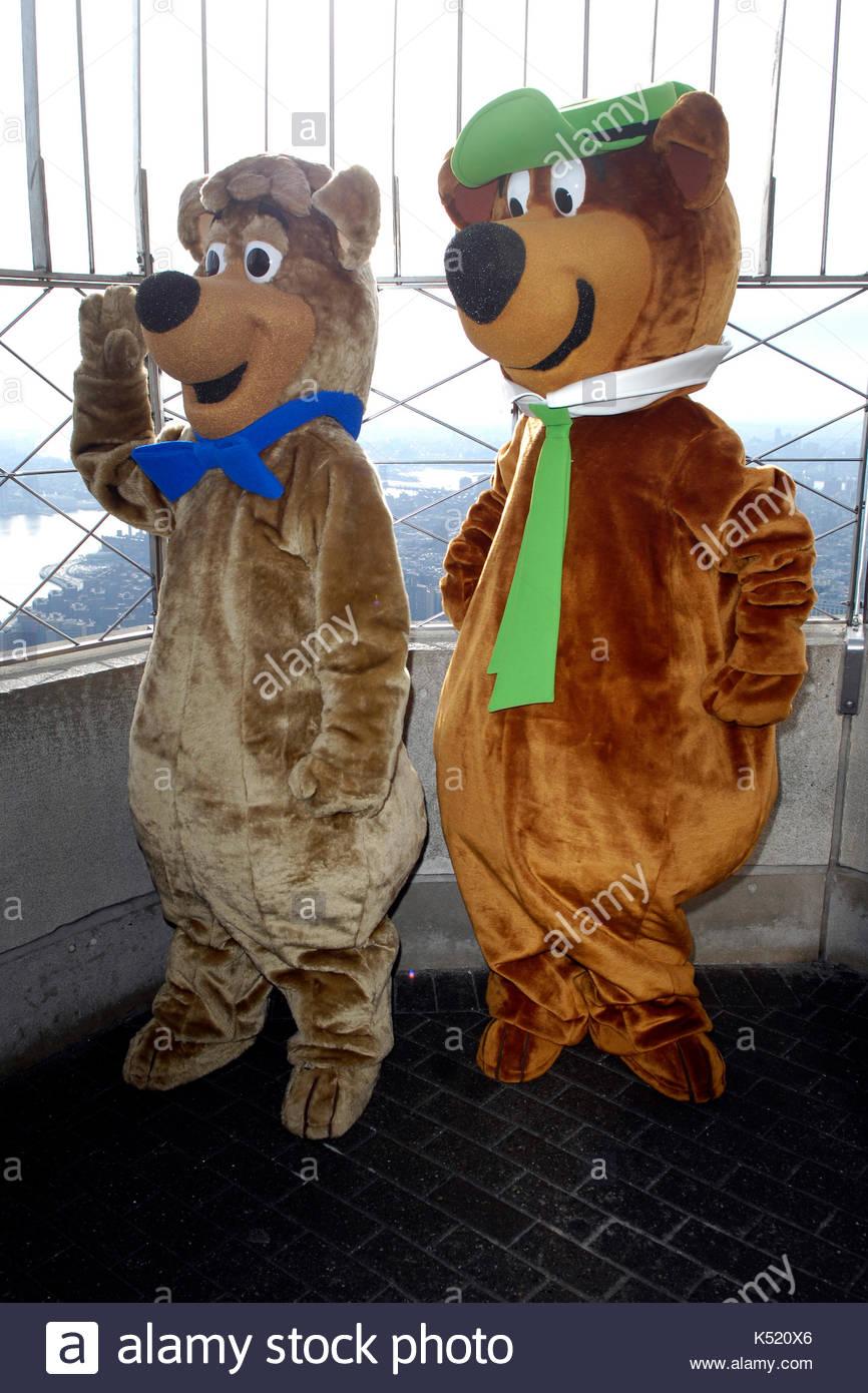 Boo Boo and Yogi Bear. Yogi Bear Boo Boo and King Kong visit Empire State Building New York NY. & Boo Boo and Yogi Bear. Yogi Bear Boo Boo and King Kong visit Empire ...