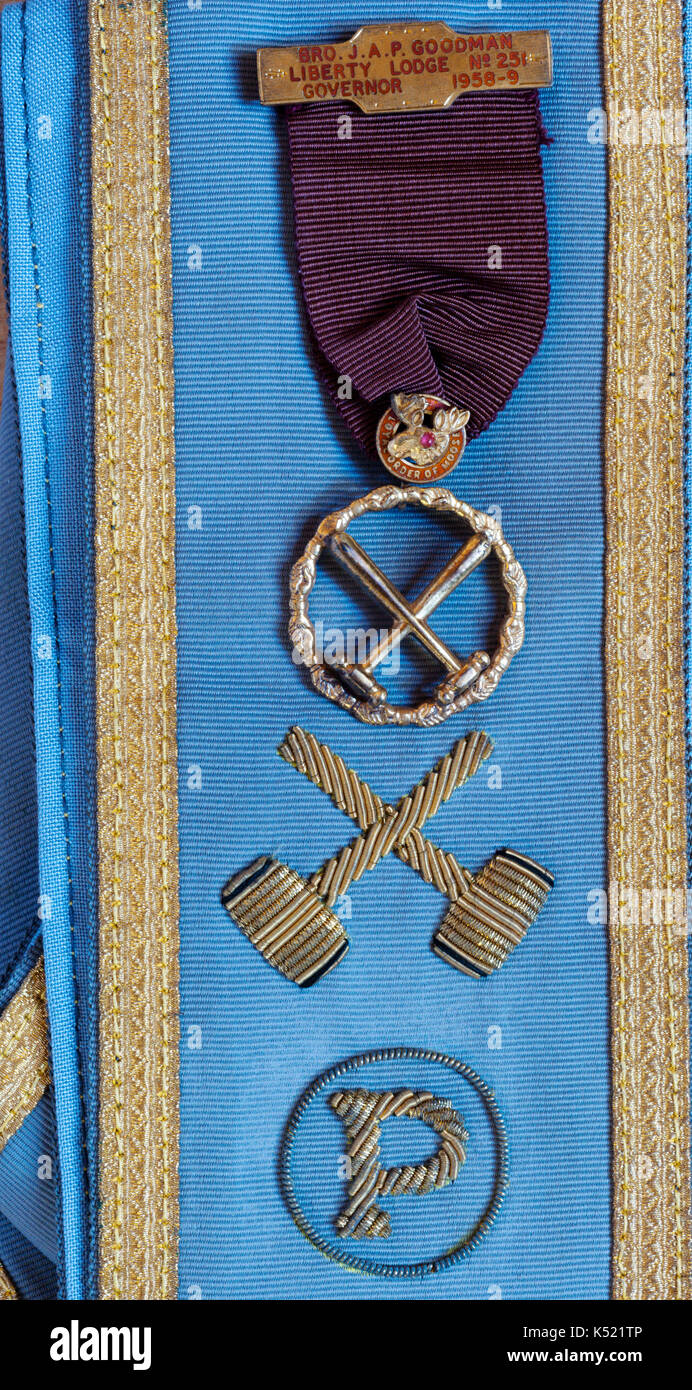 Insignia of the Loyal Order of Moose - Stock Image