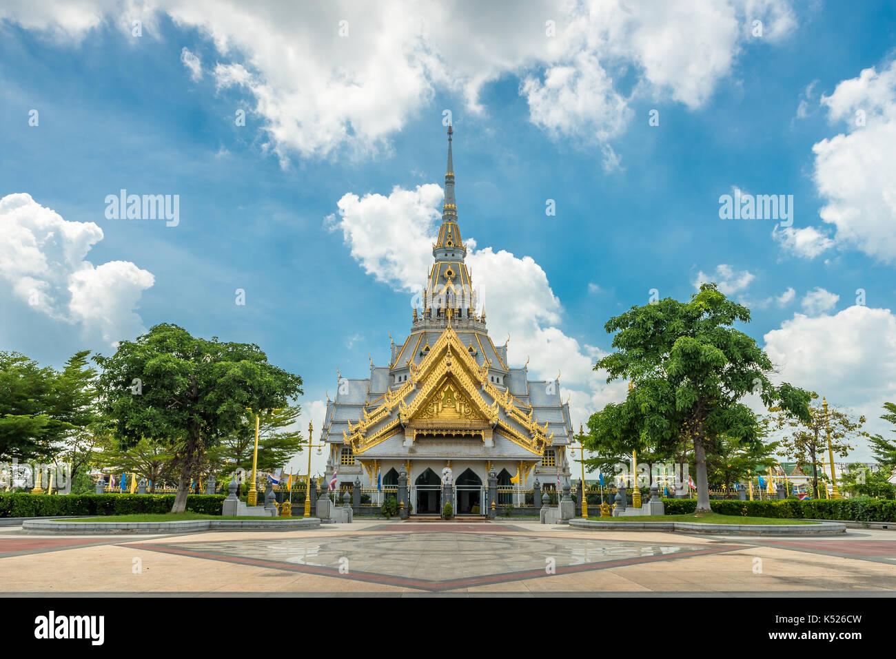 Wat Luang Por Sothon. Luang Por Sothon Temple. Chachoengsao. Thailand - Stock Image