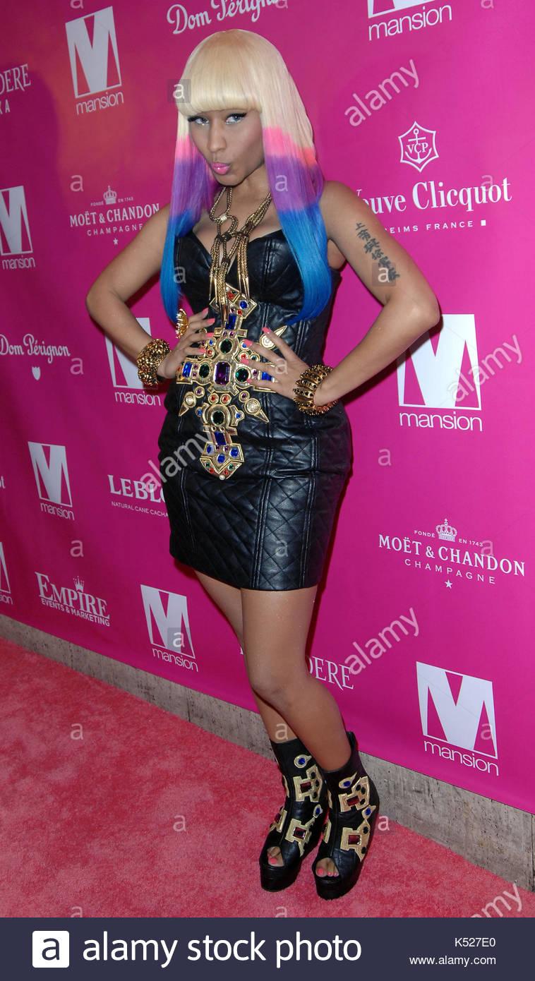 Nicki Minaj. Trinidadian-American hip hop recording artist Nicki ...