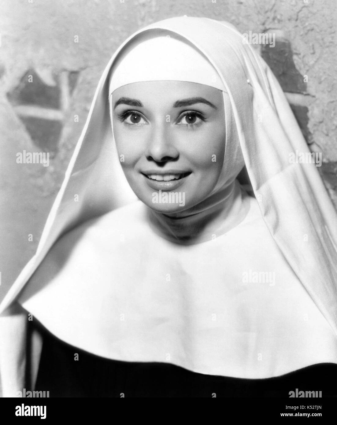 THE NUN'S STORY 1959 Warner Bros film with Audrey Hepburn - Stock Image