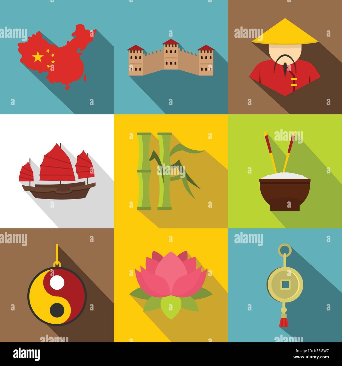 Great Wall China Map Stock Photos & Great Wall China Map Stock ...