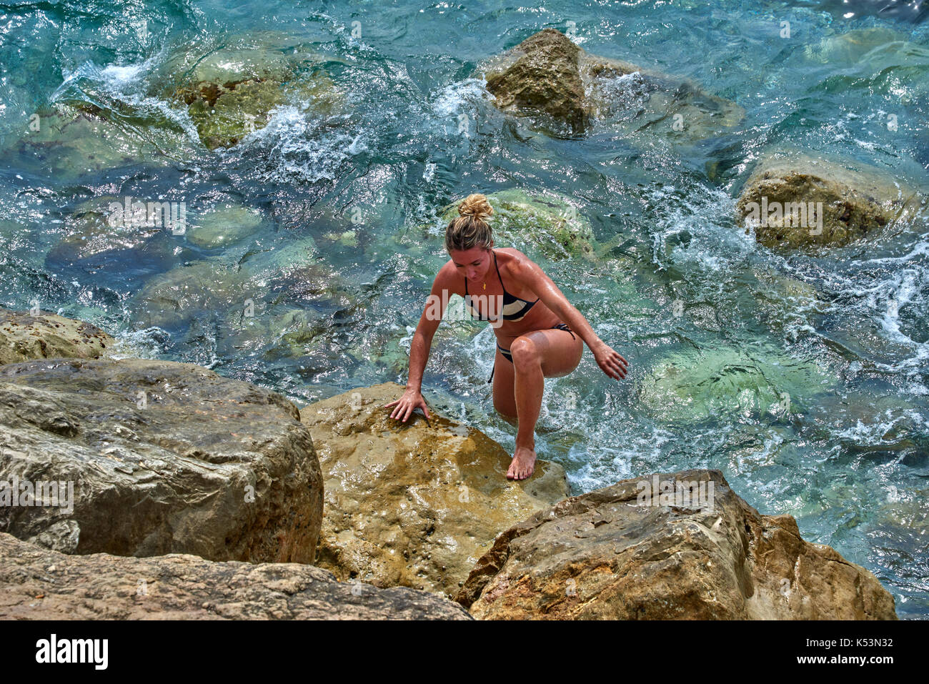 French Riviera FRN Stock Photo
