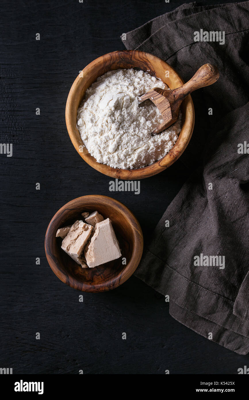 Sourdough for baking bread - Stock Image