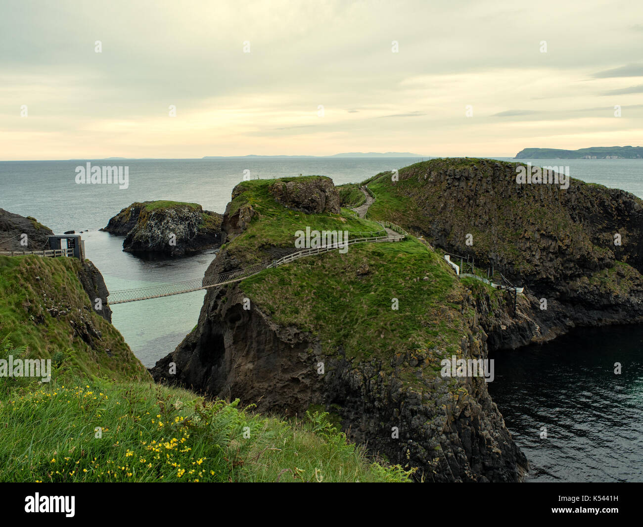 carrick-a-rede,Northern Ireland - Stock Image