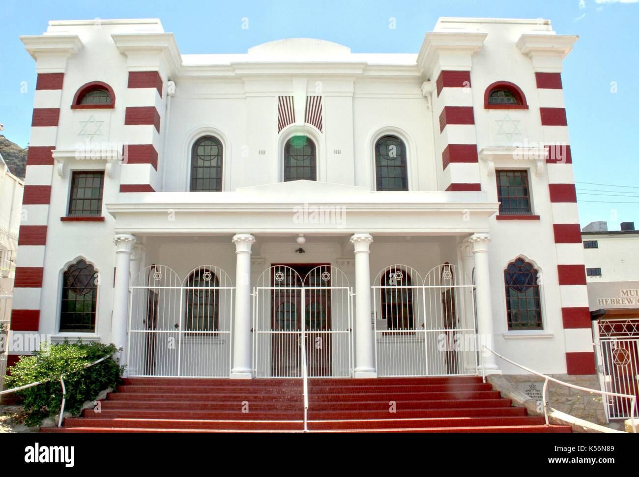 Muizenberg Synagogue, Cape Peninsula - Stock Image