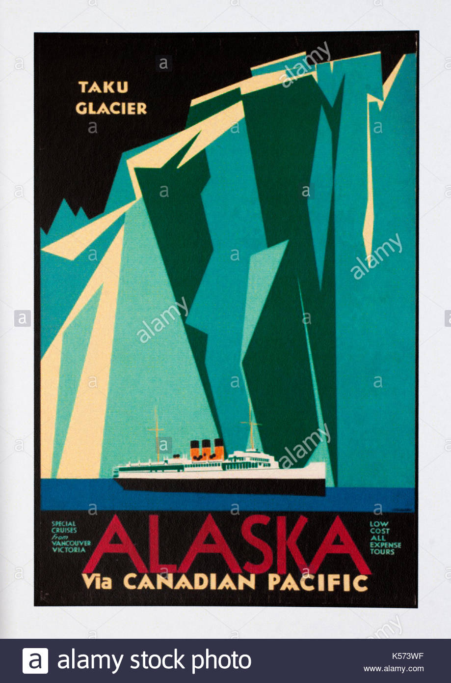 Image result for vintage alaska travel poster
