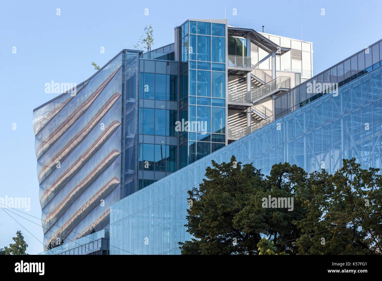 Modern Architecture Of The Czech Institute Of Informatics Robotics