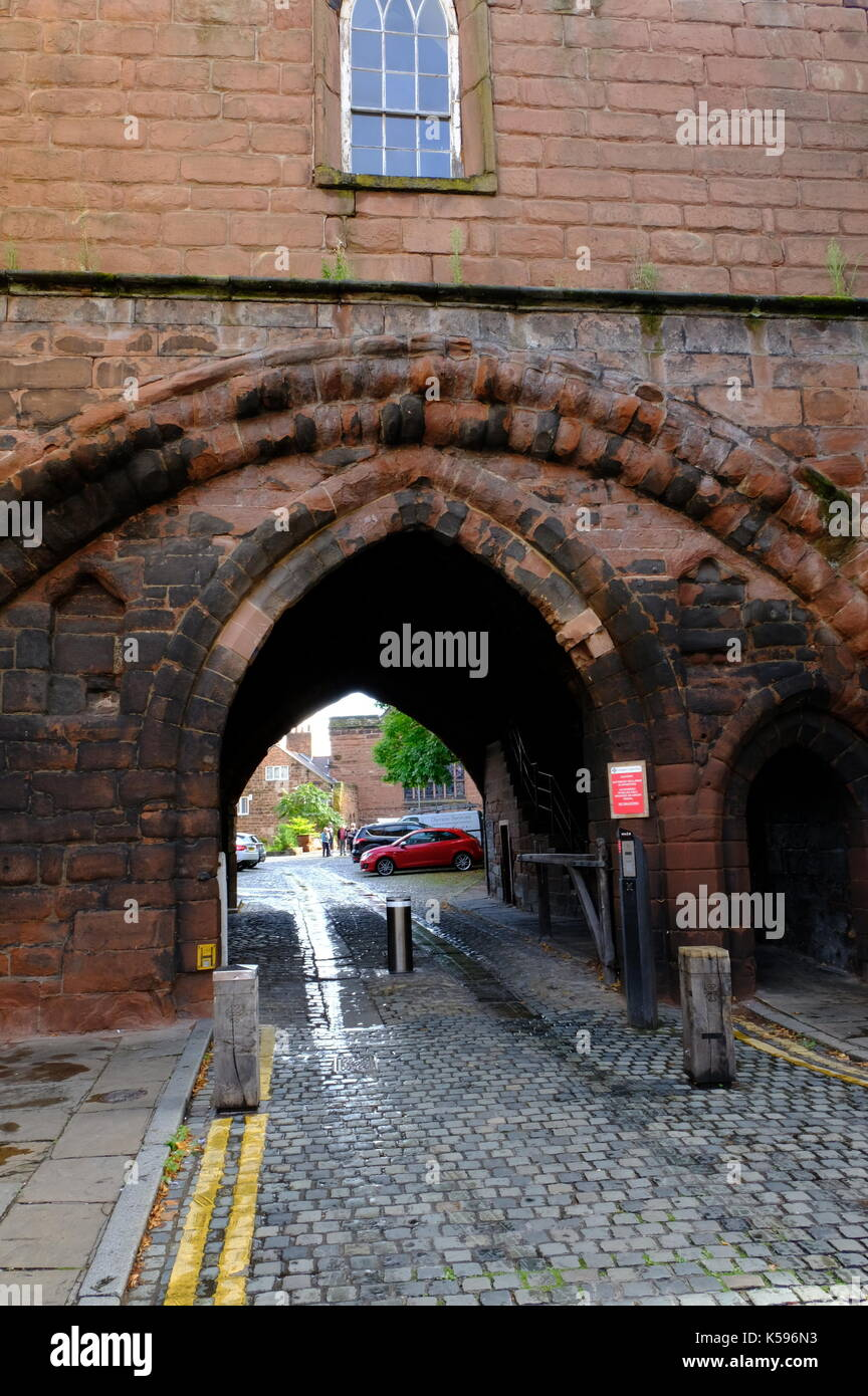 Chester, Cheshire England - Stock Image