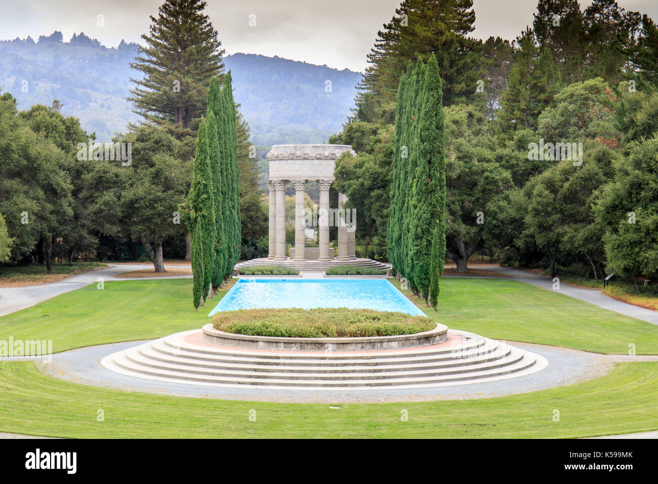 Pulgas Water Temple. - Stock Image