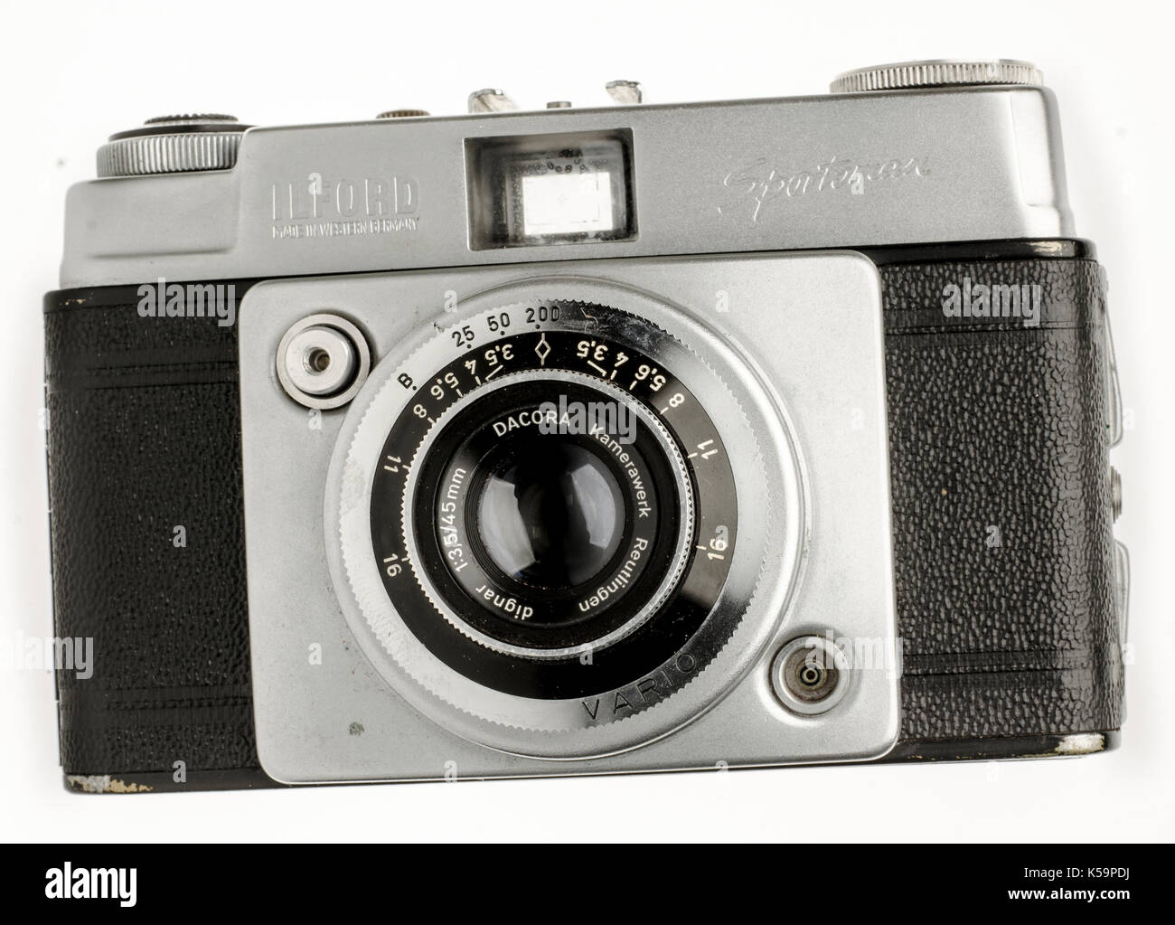 Ilford Sportsman 35mm Compact Camera - Stock Image