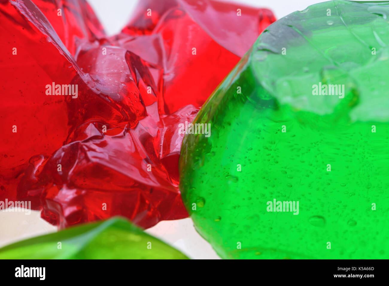 Abstract jello - Stock Image