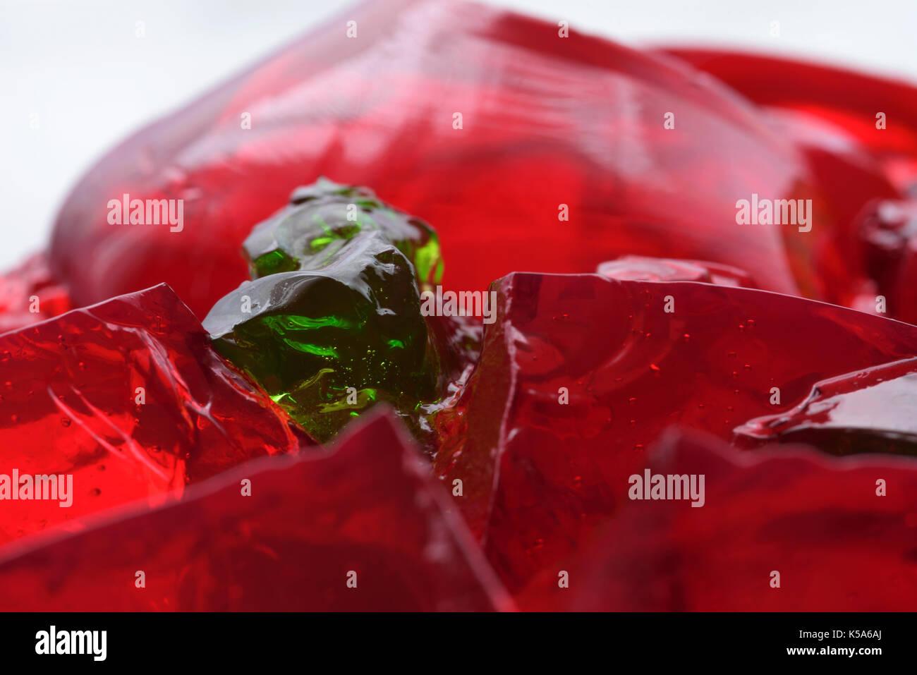 Jelly. closeup - Stock Image