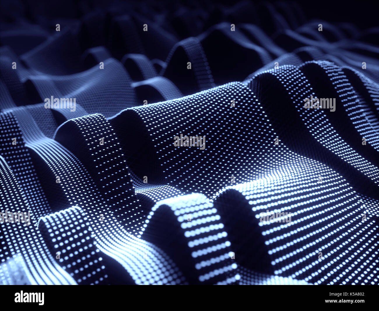 Metal structures, illustration. - Stock Image