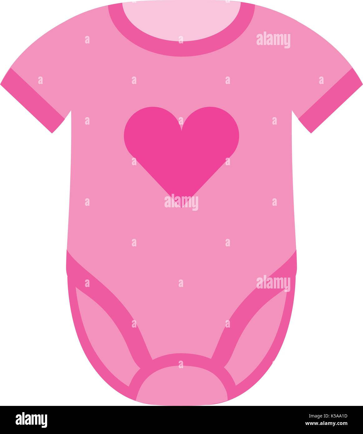 1c7c6aca0 cute clothes girl baby shower gift icon Stock Vector Art ...