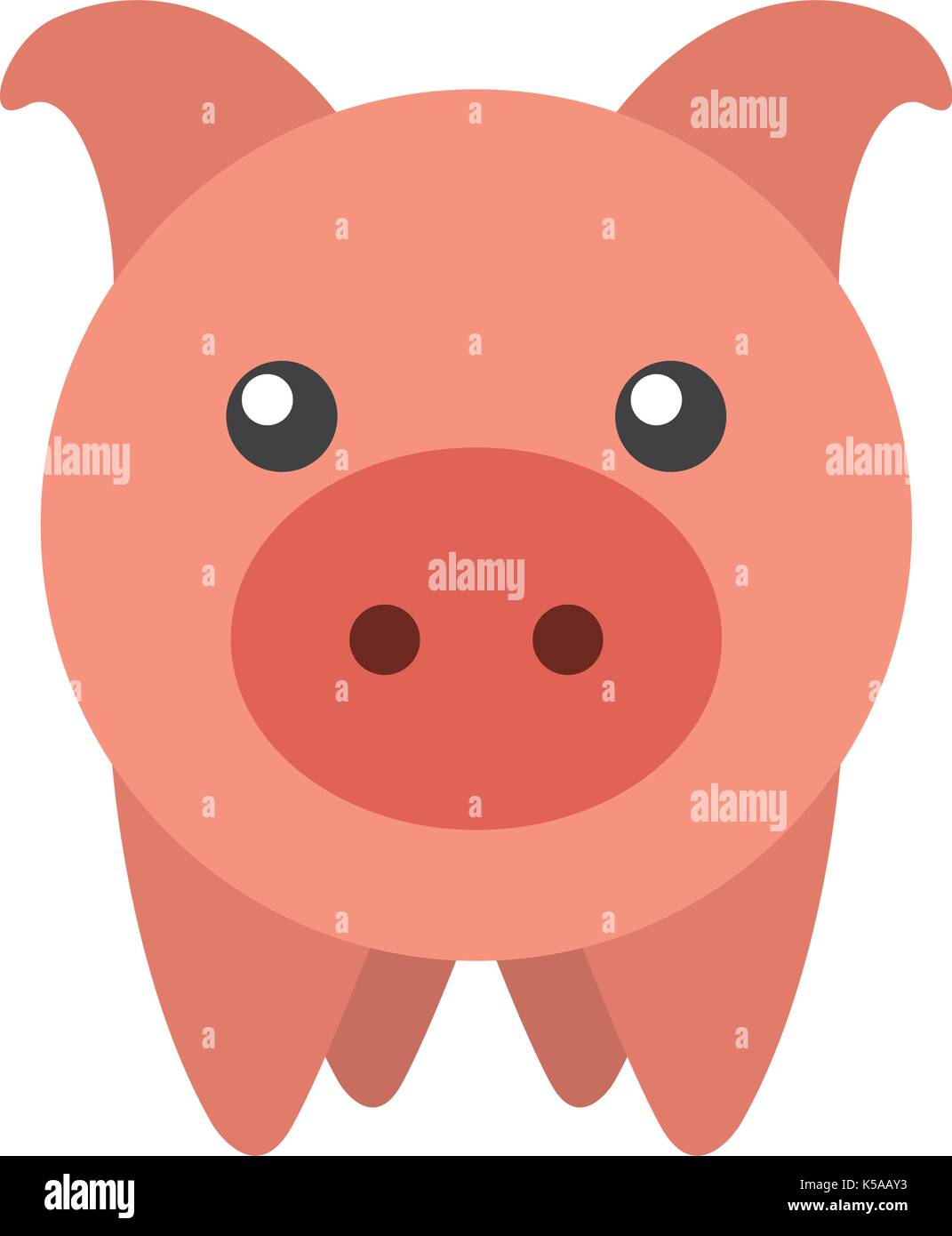piggy bank saving money cash invest concept - Stock Image