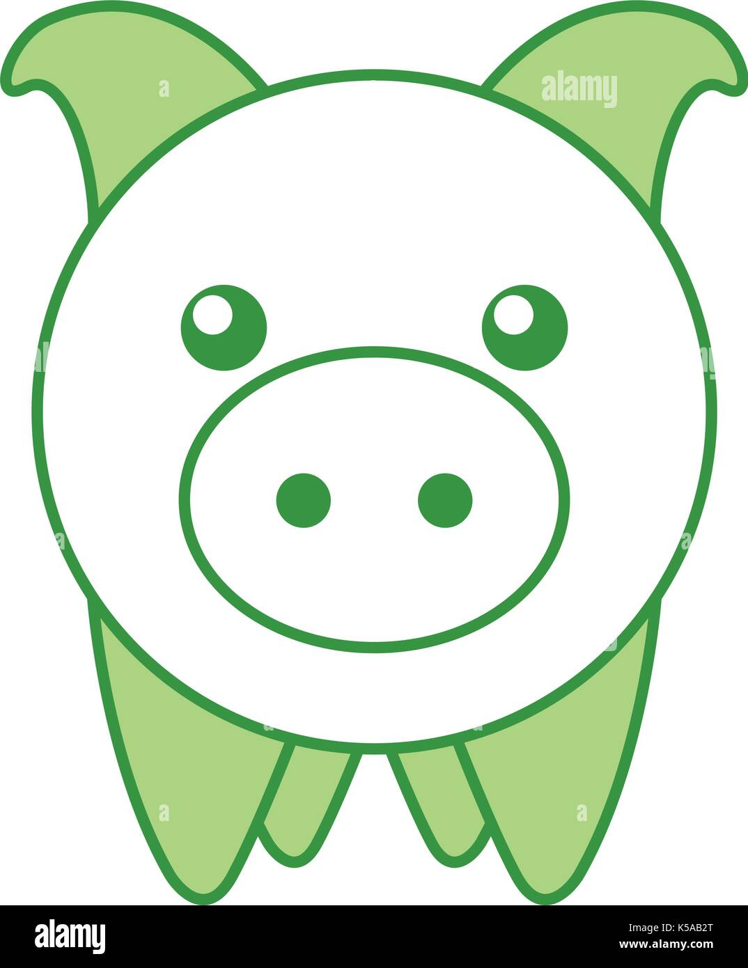 piggy bank saving money cash invest concept - Stock Image
