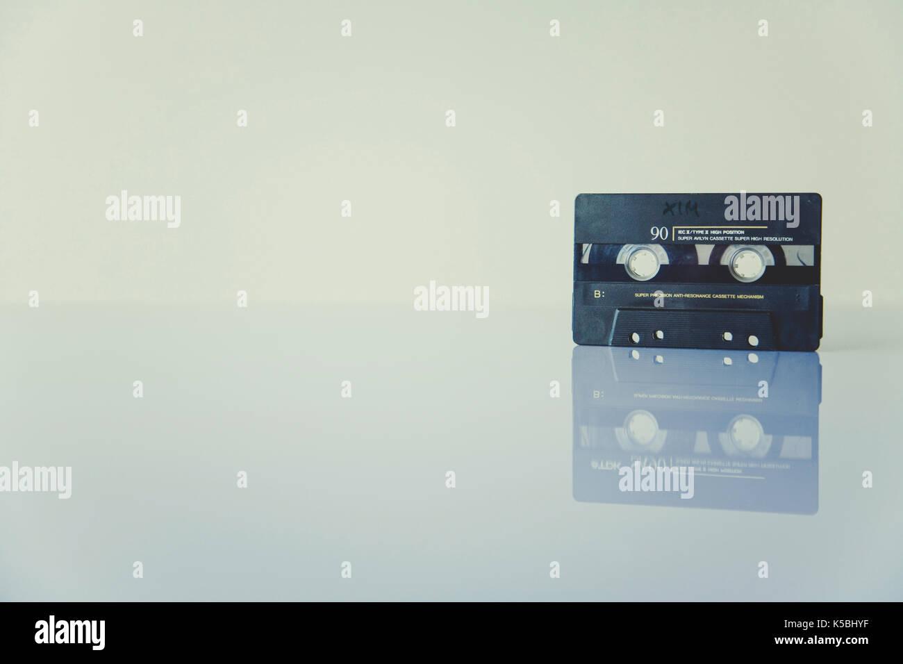 Retro cassette - Stock Image