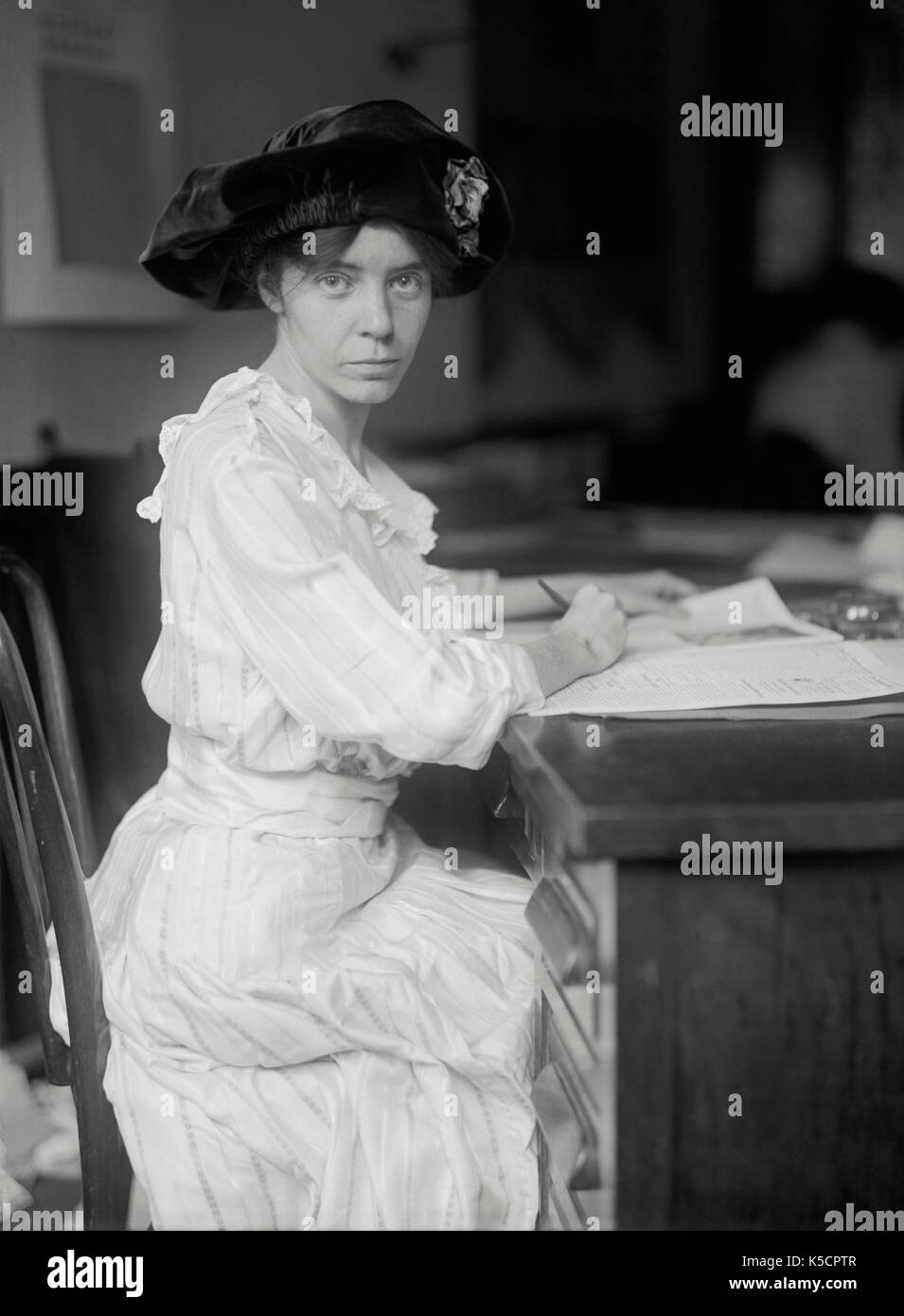 Alice Paul, 1915. Suffragette - Stock Image
